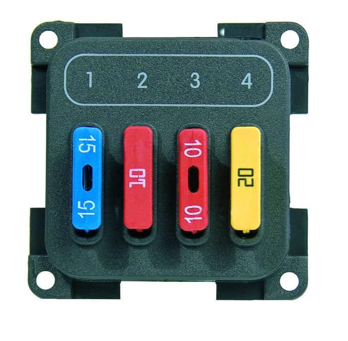 CBE Electrical Modular 4 way fuse module