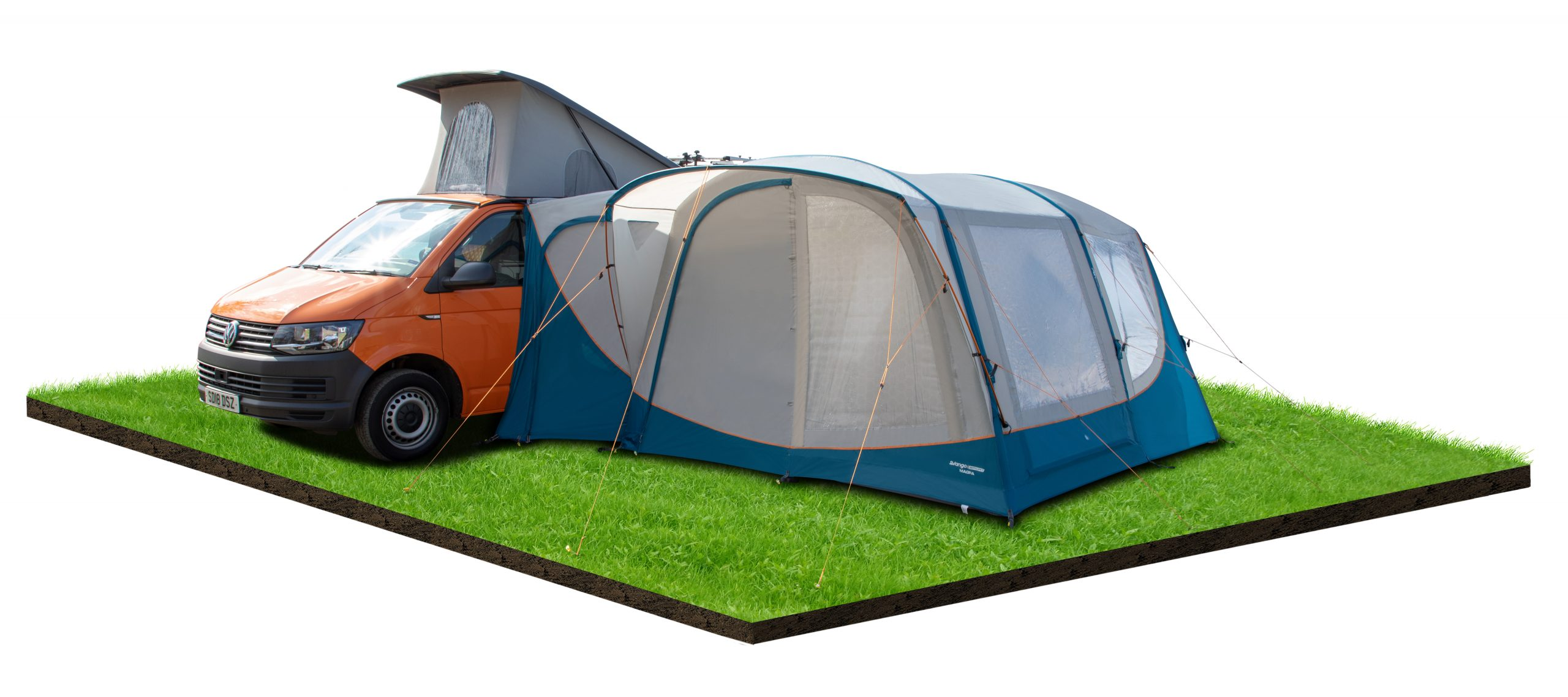 Vango magra driveaway awning blue main picture